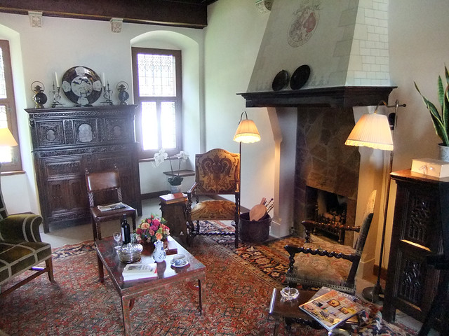Living Room in Kasteel de Haar near Utrecht, Holland