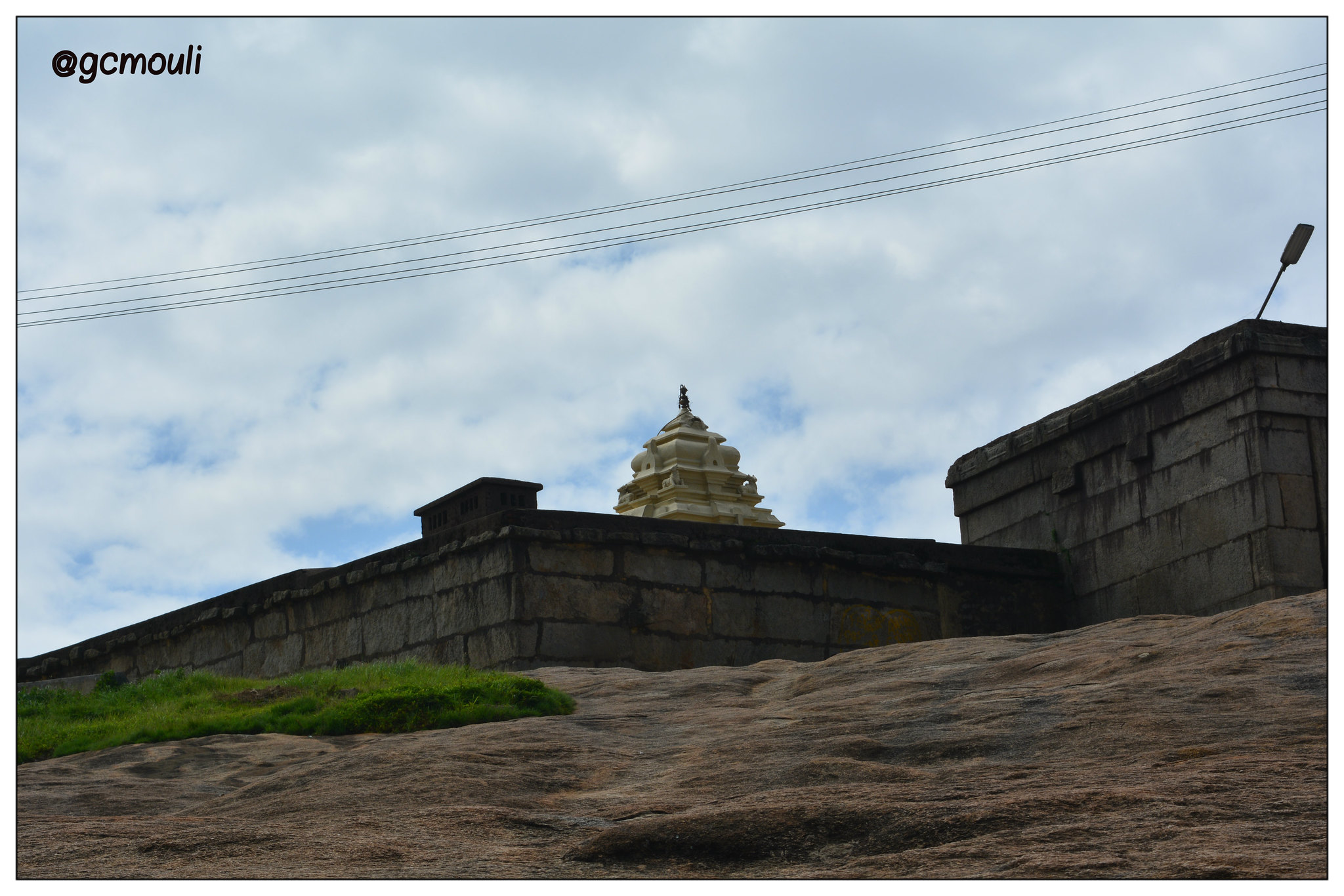 Temple/fort on top of Nandi Hills