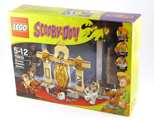 LEGO Scooby Doo 75900 Mummy Museum Mystery box01