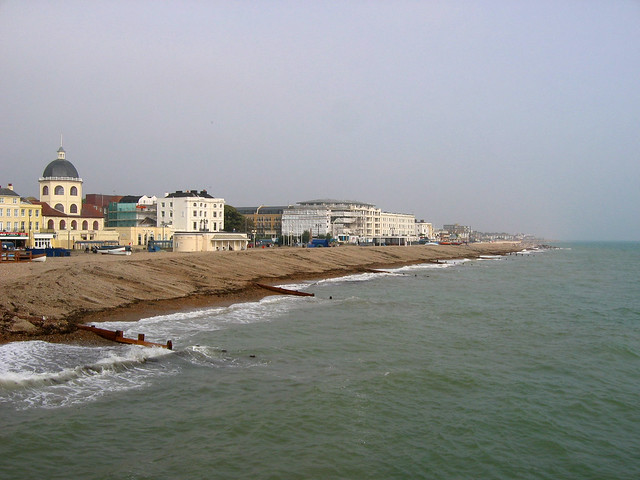 View from Worthing Pier