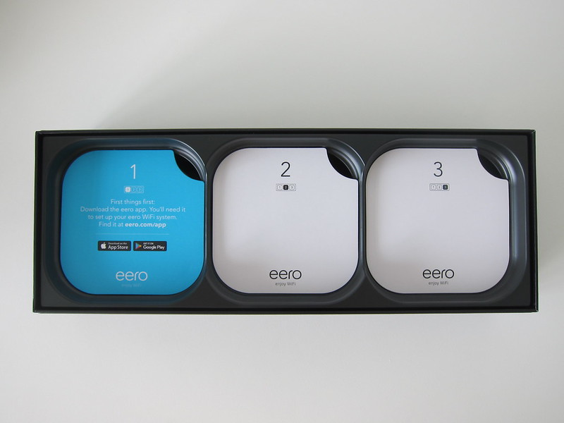 eero (Pack of 3) - Box Open