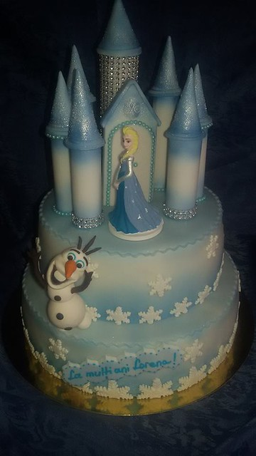Castle Frozen Cake by Marynella Ciuchi-Groza of Torturi Mary