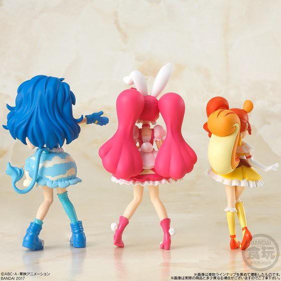 """使用""""奶油能量""""進行華麗的戰鬥!《閃亮閃亮☆光之美少女 最時尚》角色盒玩登場!キラキラ☆プリキュアアラモード"""