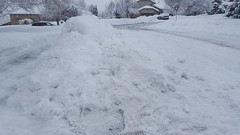 So much snow to shovel!
