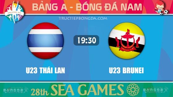 U23 Thái Lan vs U23 Brunei