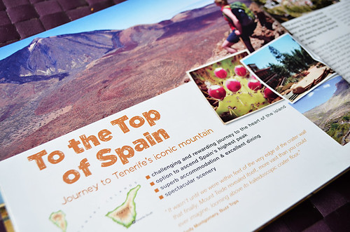 Top of Spain, Slow travel brochure, Inntravel