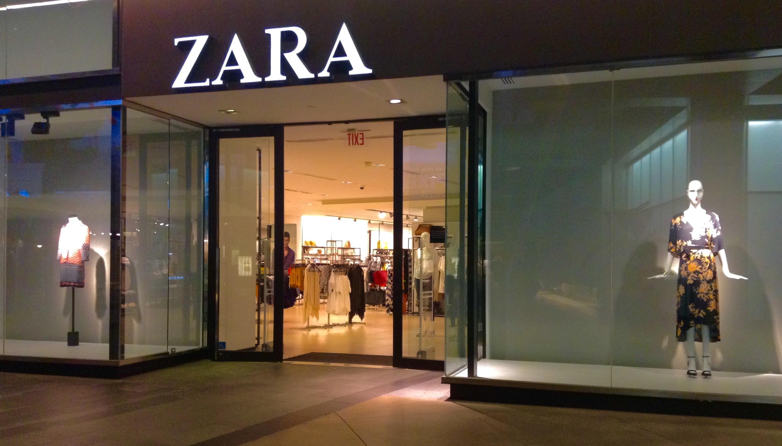Zara Clothing Store Los Angeles California 6 2015 By
