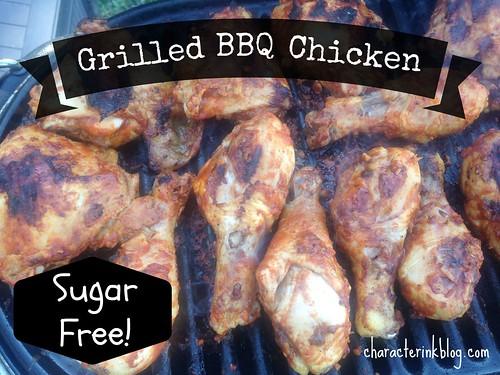Sugar-Free Grilled BBQ Chicken