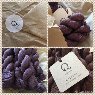 Ooh!  Look what arrived today!! Yarn for a second Flex from @quinceandco !