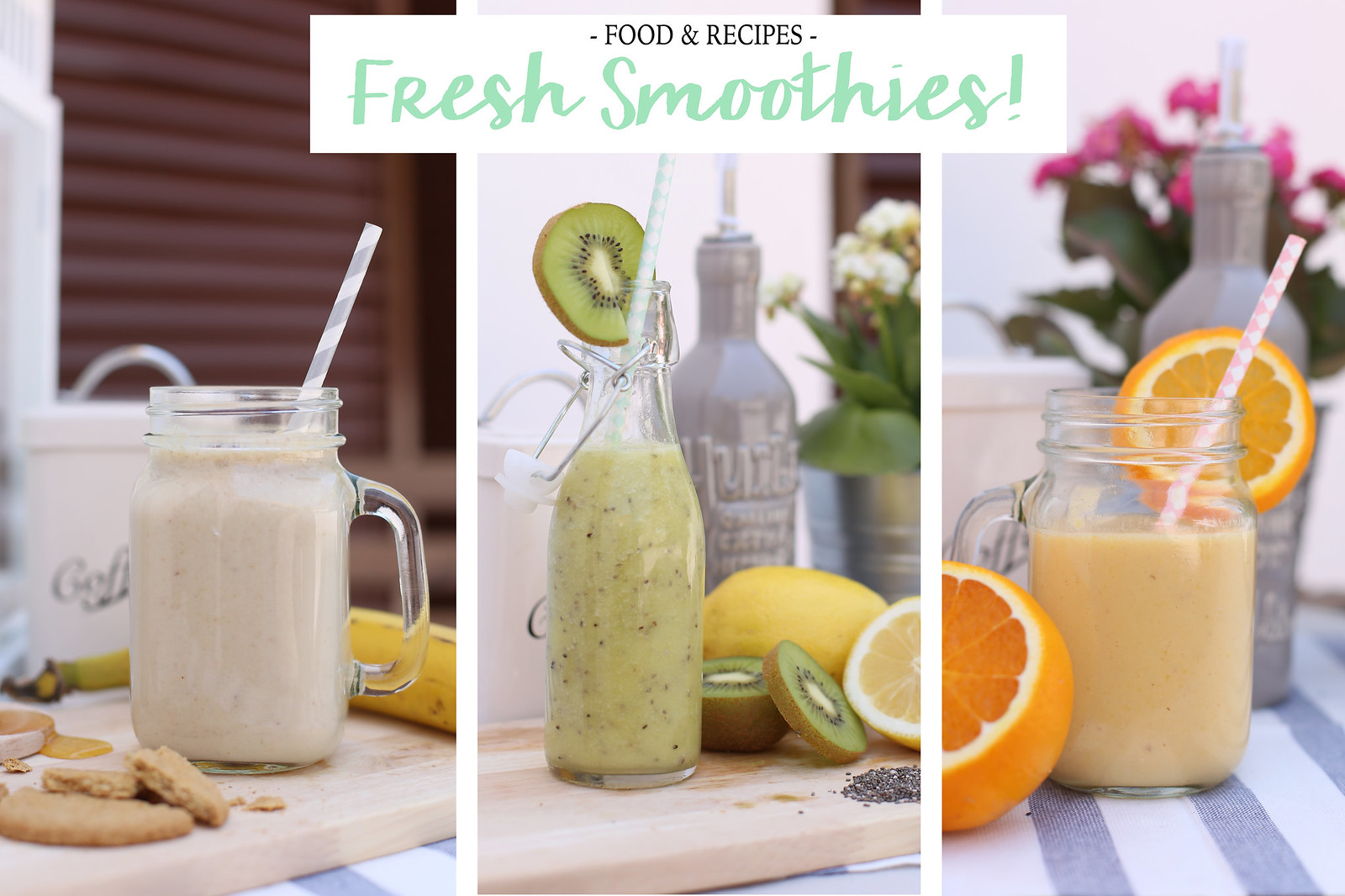 cover smoothies recipe