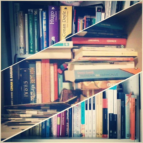 My TBR Shelves