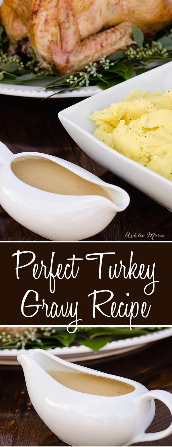 after the turkey is done you want to use the juices to make this smooth and easy gravy recipe