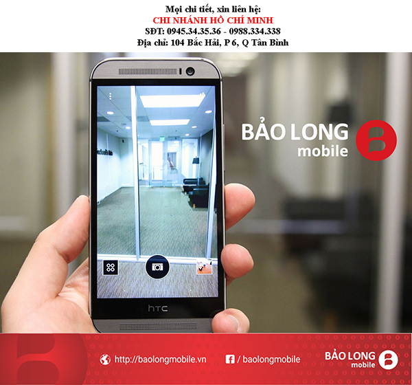 Nơi chuyên sửa chữa mặt kính HTC One M8 uy tín tại SG