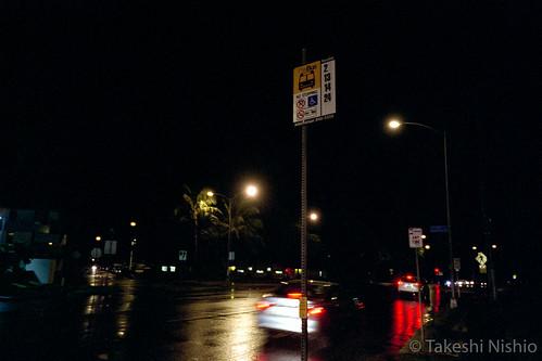 bus stop, Kapahulu Ave + Leahi Ave