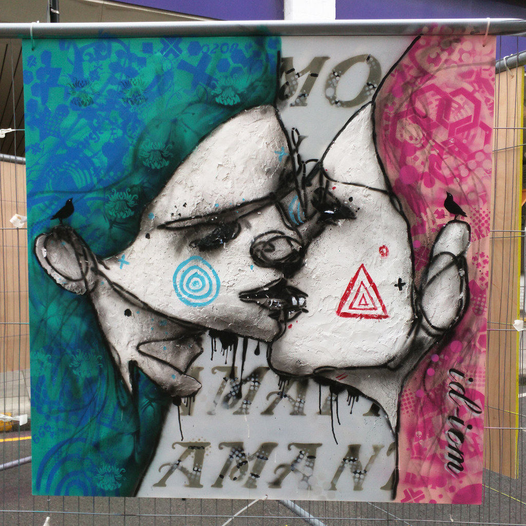 Amo, Amas, Amat (id-iom @ Whitecross Street Party 2015)