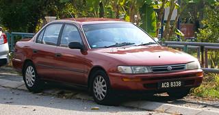 1992 Toyota Corolla (E100) 4-door sedan