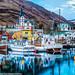 Husavik Harbor by Visual Lyrics Photography - Ernie Vater