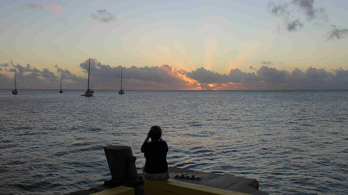 sunset niue alofi sirrobertswharf