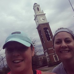 Ring our bells. #roadtriphome #morningrun