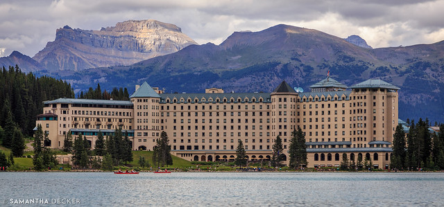 The Beautiful Fairmont Chateau Lake Louise