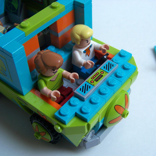 lego Mystery Machine Fred
