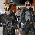 Judge Dredd at Preston Comic Con