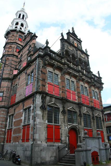 Old Town Hall.  Den Haag, Nederlands.