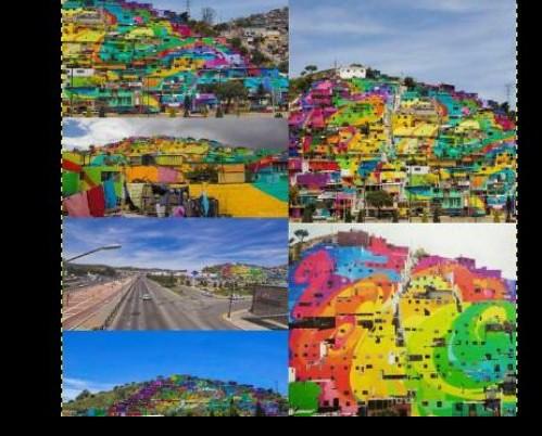 Mural 'Pachuca se pinta', resultado de integración comunitaria: Peña