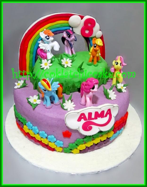 Cake My Little Pony Dan Cupcake My Little Pony Alma