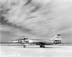 Lockheed XF-104 53-7786 5Mar54 [mfr AH2467 via RJF]