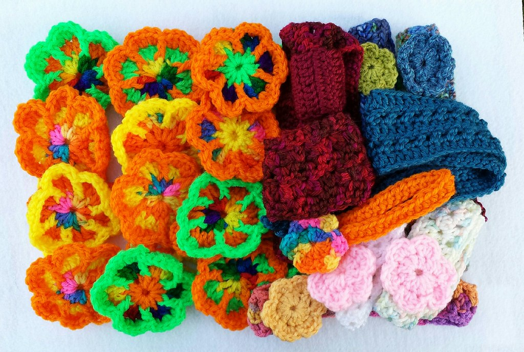 Crochet Headbands And Flowers Diane In Waynesfield Oh Ma Flickr