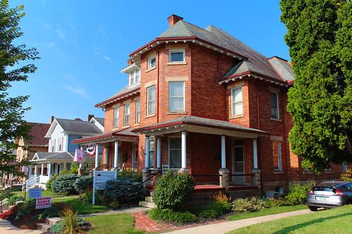 mountgilead morrowcounty ohio village house