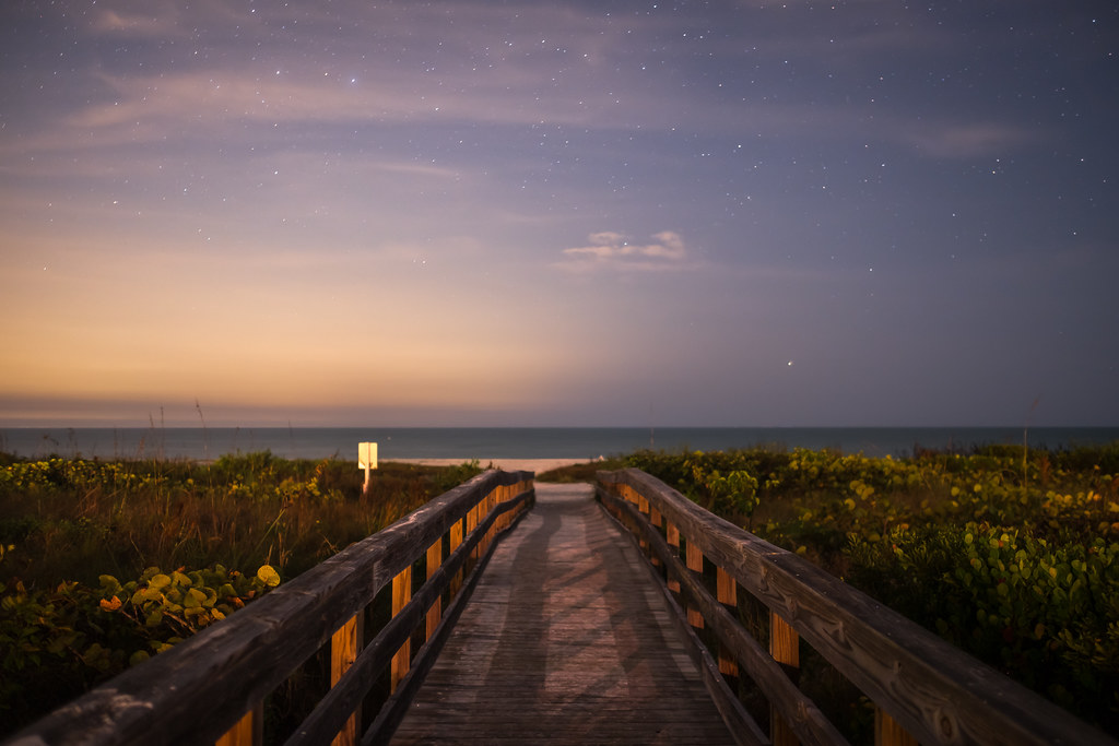 Path to the beach, Sanibel, United States picture
