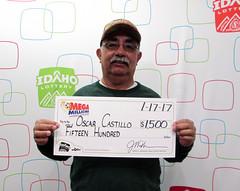 Oscar Castillo - $1,500 Mega Millions
