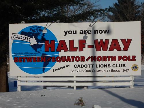 Half-Way Between the Equator and North Pole