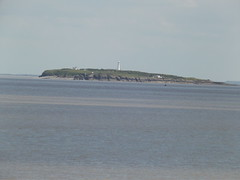 View from The Esplanade, Penarth - Flat Holm