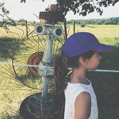 09.06.15 • Zoé a croisé de drôle d'oiseaux... - Photo of Semens