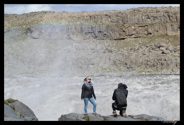 Turistas al borde