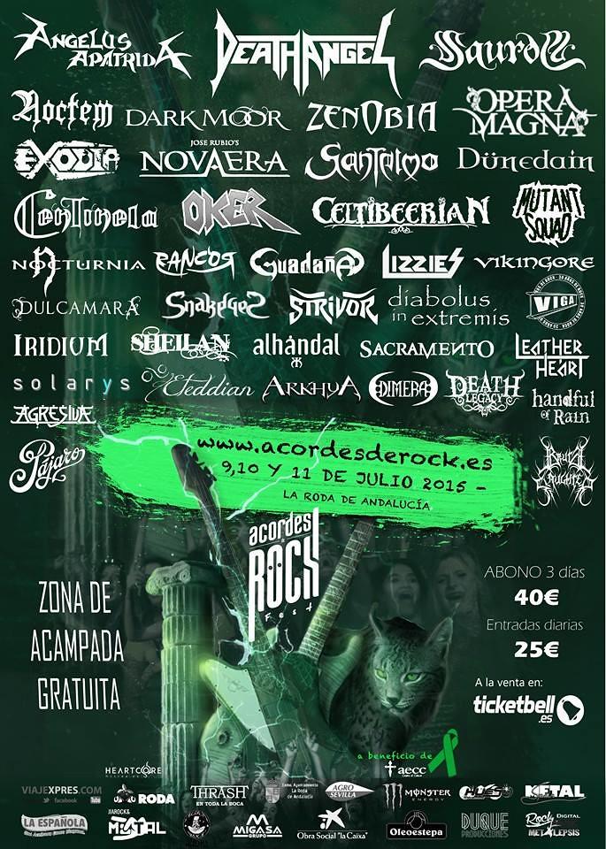 poster acordes de rock