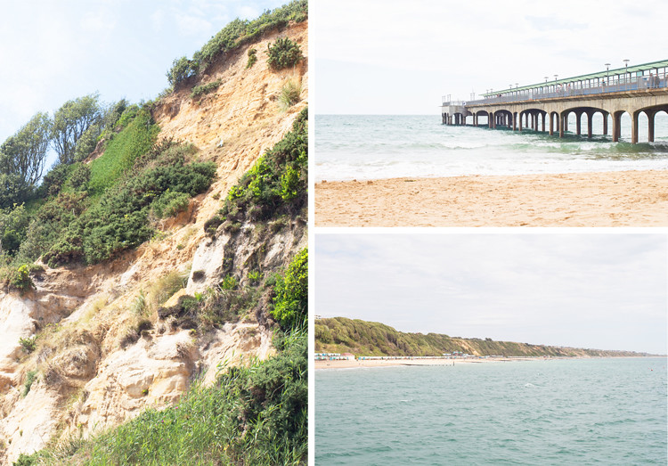 6 BOSCOMBE PIER COLLAGE