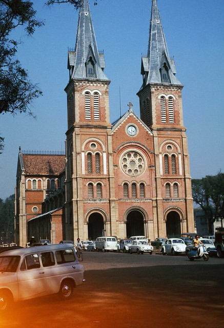 Basilica of Our Lady of The Immaculate Conception, Saigon, Vietnam 1968