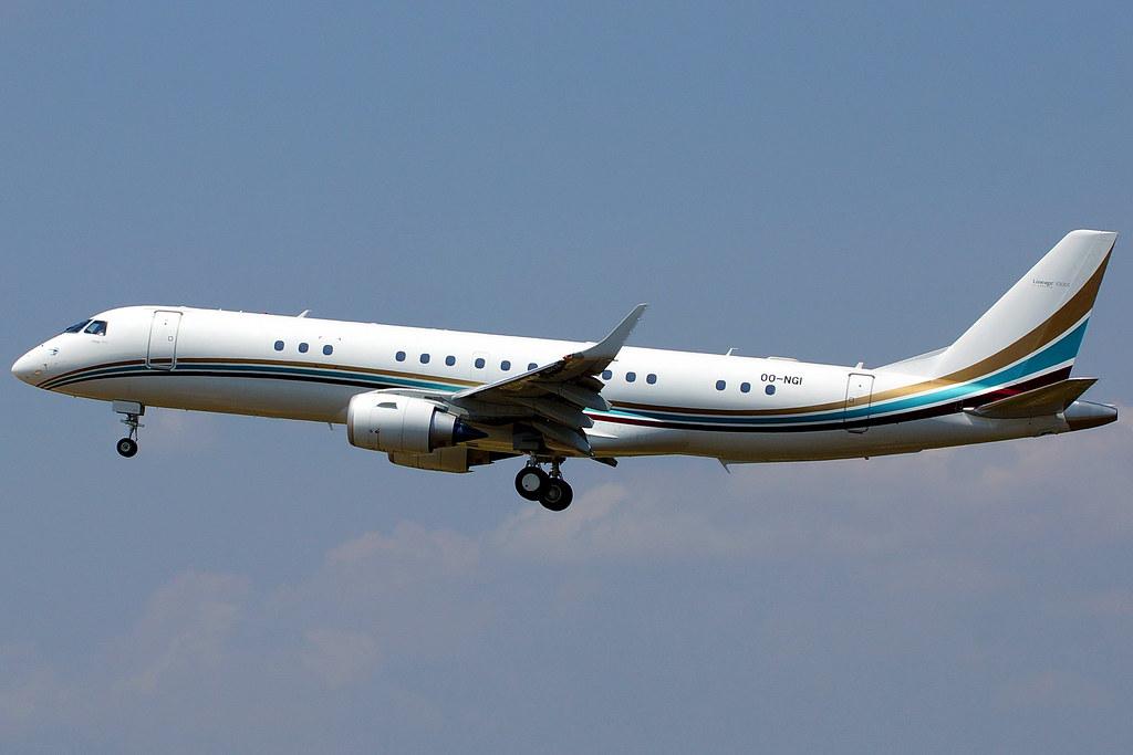 OO-NGI - E190 - Flying Service