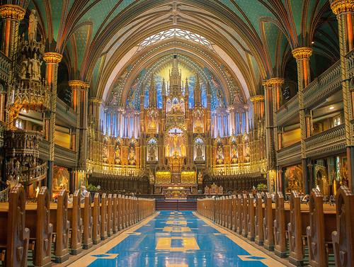 Montreal Basilique de Notre Dame