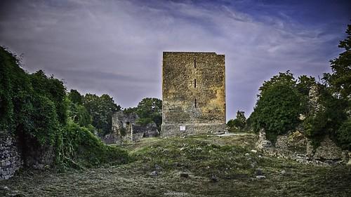 tower castle heritage history europe fort croatia fortification fortress hdr cro hrvatska moslavina garić garicgrad