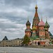 Saint Basil's Cathedral and the GUM in Red Square by Jorge Lascar