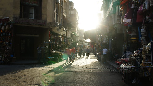 Walking in Khan El-Khalili