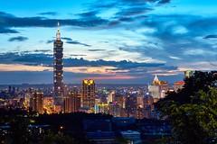Sunset Taipei 101 ,Taiwan