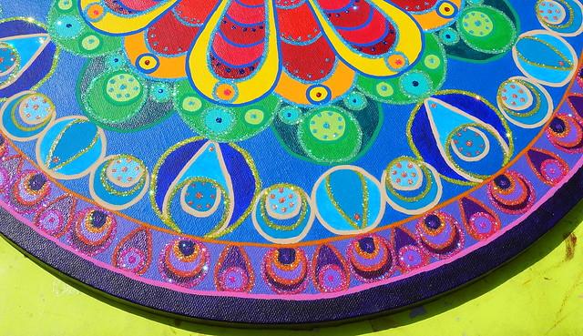 rainbow mandala 3