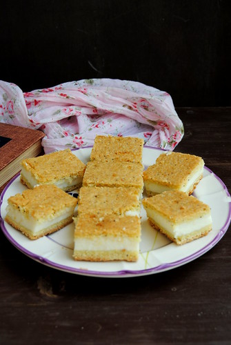 Lemon Ricotta Squares