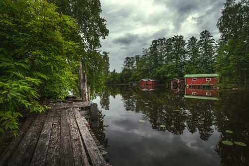 red river pier nikon nikkor boathouse jyrki d600 kymi 1635mm salmi pyhtää